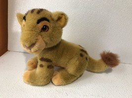"Vintage Disney Lion King Simba Plush Toy  8"" Tall G1 - $19.79"