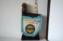 "VNT 1966 Jim Beam ""Wonderful World of Ohio"" Genuine Regal China Decanter... - $22.32"