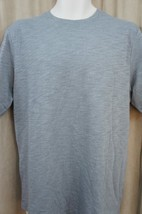 Club Room Classic Mens T Shirt Sz S Silver Heather Lightweight Crewneck Tee - $12.09