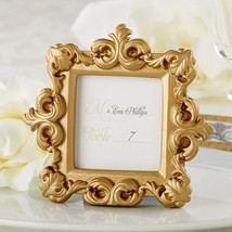 inch Royale inch  Gold Baroque Place Card/Photo Holder  - $4.99