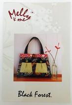 """Quilt Pattern Purse Handbag Melly & Me Black Forest 20"""" x 15"""" 50cm x 38c... - $7.37"""