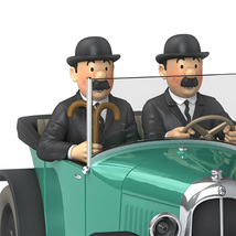 The Citroen Torpedo 5 CV 1/24 Voiture Tintin car Tintin & Land of Black Gold image 2