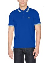 Hugo Boss Men's Regular Fit Paddy Pro Polo Shirt TShirt Blue 50302557 424 Size S