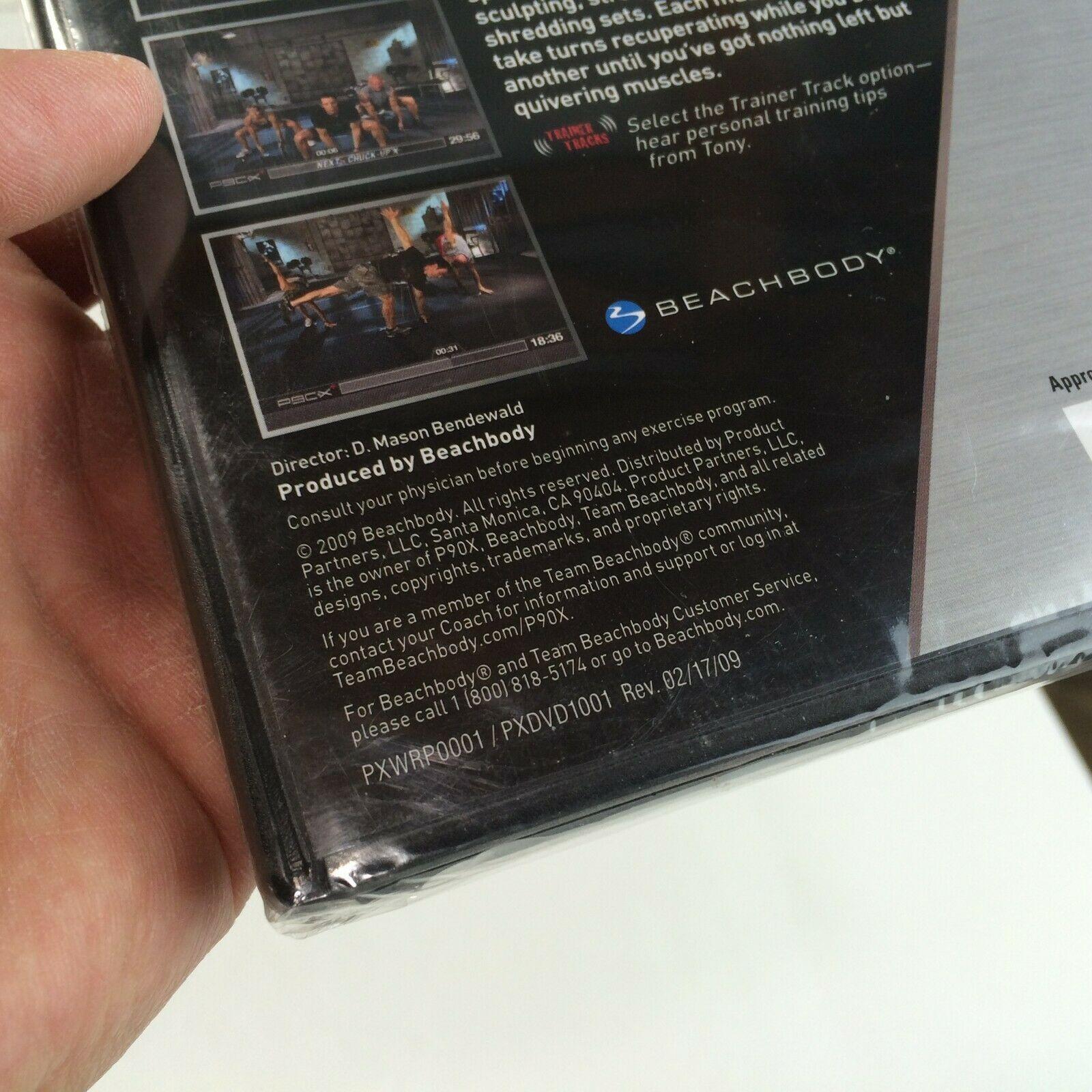 BEACHBODY P90X+ Extreme Home Fitness Total Body Plus with Tony Horton DVD NEW image 4