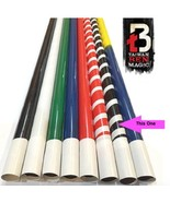 Appearing Cane Magic Trick - Black And White Metal - Professional - The ... - $49.95