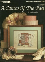 A Cameo Of The Past Cross Stitch Embroidery Pattern Leaflet 520 Leisure ... - $6.99