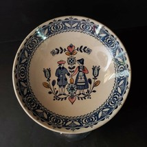 Vintage Johnson Brothers Hearts Flowers Berry Bowl Staffordshire Old Granite - $9.99