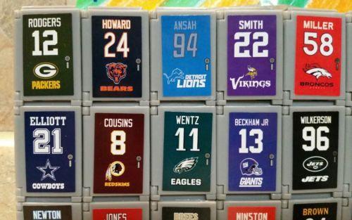 2017 NFL FOOTBALL TEENYMATES LOCKERS!!! - PICK YOUR FOOTBALL TEAM LOCKER!!! image 5
