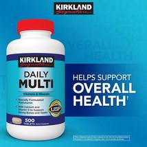 Kirkland Signature Daily Multivitamin 500 Tablets Free Shipping - $24.85
