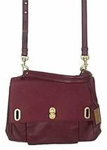 Badgley Mischka Anne Nappa Saffiano Satchel Handbag MSRP: $395.00 - $138.59