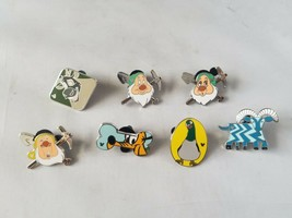 Disney Official Trading Pins Hidden Mickey Assorted Collectible Lot of 7 - $13.09