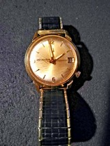 Vint. Bulova Accutron  10K Gold Fill Watch, MAX S. WORTHINGTON ANNIVERSA... - $222.75