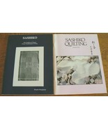 Lot 2 SASHIKO Quilting of Japan Bonnie Benjamin & SASHIKO QUILTING Kimi Ota - $17.00