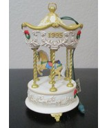 Hallmark Carousel Horse Ornament by Tobin Fraley 1995 NO BOX - $8.90