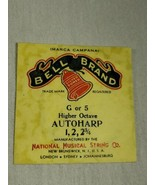Bell brand AutoHarp Strings G or 5 higher octave 1, 2, 2 3/4 (a12-14) - $14.85