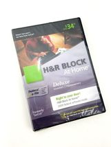 H&R Block at Home 2009 Deluxe Federal E-File Software Brand New image 3