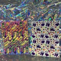 VTG Lisa Frank Complete Sticker Sheets Fabulous Fruit Panda Ling Ling S666 S251