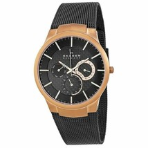 SKAGEN MEN 809XLTRB TITANIUM MESH QUARTZ WATCH - $100.80