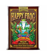 Foxfarm FX14047 pH Adjusted Happy Frog Potting Soil Mix 2 Cubic Feet Bag - $69.99