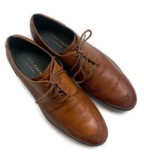 Cole Haan Zerogrand Oxfords Lace Up Shoes Size 8.5 M Men's Brown Leather - $55.19