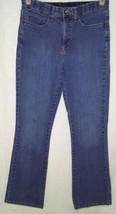 Lee Womens Jeans Size 10 Comfort Waistband Bootcut Medium Wash Flap Pockets - $14.85