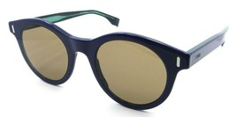 Fendi Sunglasses FF M0041/S PJP70 50-22-150 Blue / Brown Made in Italy - $98.49
