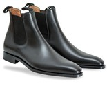 Black chelsea leather boots thumb155 crop