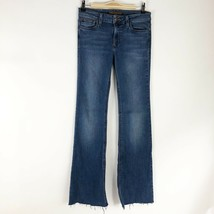 Joe's Flawless Icon Flare Mid Rise Released Hem Jeans - Size 28 - $18.42
