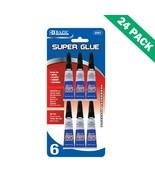 Super Strong Adhesive Glue, Bazic Plastic Super Glue Bond Ceramic (24 Un... - $54.49