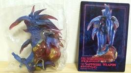 Square Enix Final Fantasy Creatures Vol 4 SAPPHIRE WEAPON Full Color Figure - $14.69