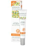 NIB Andalou Naturals Luminous Eye serum Brightening Fruit Stem Cells Ren... - $19.79