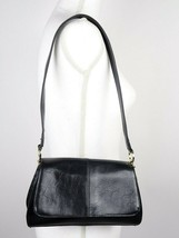 Liz Claiborne Black Faux Leather  Medium Size Women's Purse - $13.78