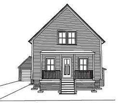 "House Plan ""Juneau"" - $60.00"