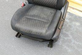 17-18 Nissan Rogue Front Left Driver Manual Seat - Black image 3