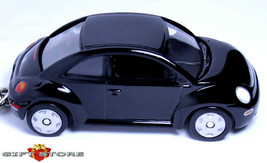 Rare Key Chain Ring Black Vw New Beetle Volkswagen Custom Paint Limited Edition - $44.98