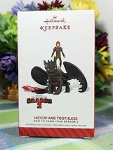 Hallmark How to Train Your Dragon Hiccup and Toothless ornament 2014 - $99.95