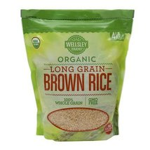 Wellsley Farms Organic Long-Grain Brown Rice, 4 lbs. AS - $25.07