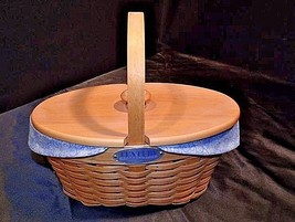 Centuries Celebration Longaberger Basket AA18-1279 Vintage Collector's Club 2000