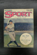 1927 Sport A Monthly Pictorial September Vol 1 #1  BABE RUTH Cover Yankees - $989.99