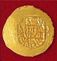 300th ANNIVERSARY MEXICO 1714 2 ESCUDOS 1715 FLEET  PIRATE GOLD COINS TR... - $6,950.00