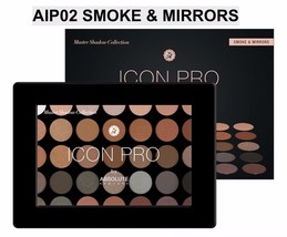 ABSOLUTE NEW YORK ICON PRO PALETTE AIP02 SMOKE & MIRRORS - $15.83