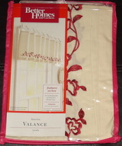 Better Homes and Gardens Valance - Rose Vine - $14.01