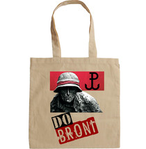 POLAND WWII PATRIOTIC BAG - NEW AMAZING GRAPHIC HAND BAG/TOTE BAG - $15.99