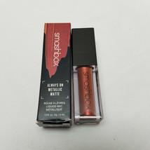 Smashbox Always On Liquid Lipstick Metallic Matte Rust Fund NIB - $15.83