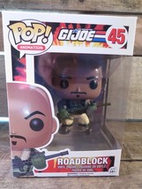 G.I.Joe Roadblock Funko Pop Vinyle Figurine 45 Nouveau - $6.21