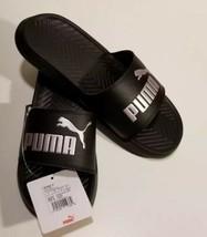 Puma Pop Cat Athletic Slide Sandals Pink/Black Women's Size 9.5 Brand New - $34.65