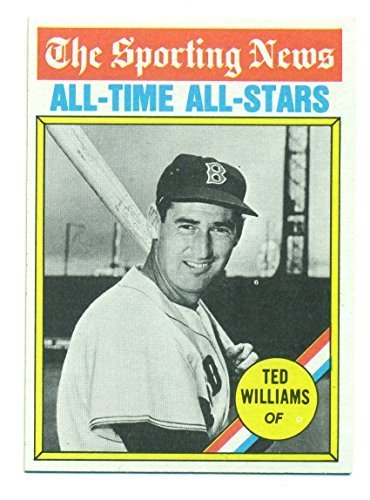 1976 Topps All Time All-Stars Ted Williams #347 HOF Boston Red Sox - Baseball Ca
