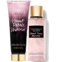 Victoria's Secret Velvet Petals Shimmer Fragrance Lotion + Fragrance Mist Set - $39.95