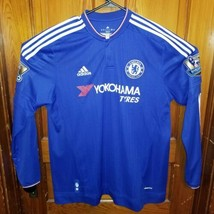 31df236fc362d Chelsea FC jersey shirt 2014 2015 Barclays Champions Home adidas size XL  Matic -  46.75