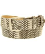 Mens Natural Real Snake Cobra Exotic Skin Leather Belt Removable Buckle ... - $59.39
